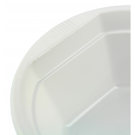 Plastic Kom PS wit 300ml Ø11,9cm (100 stuks)