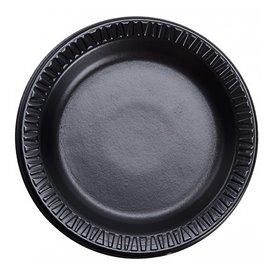 """Schuim bord """"Quiet Classic"""" gelamineerd zwart Ø18 cm (1.000 stuks)"""