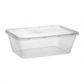 Plastic deli Container PP Rechthoekige vorm 750 ml (50 stuks)