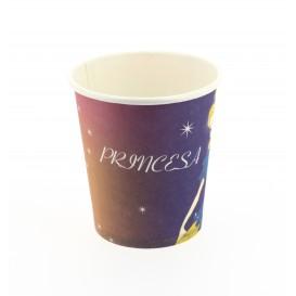 Papieren beker Princess Design 200 ml (500 stuks)