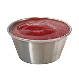 Sauce beker Roestvrij 90ml (12 stuks)