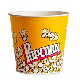 Papieren Popcorn doosje 1380ml 12,4x9x17cm (25 stuks)