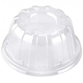 Plastic koepel Deksel transparant 11x6cm (100 stuks)