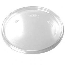 Plastic Plat Deksel transparant Ø11cm (100 stuks)