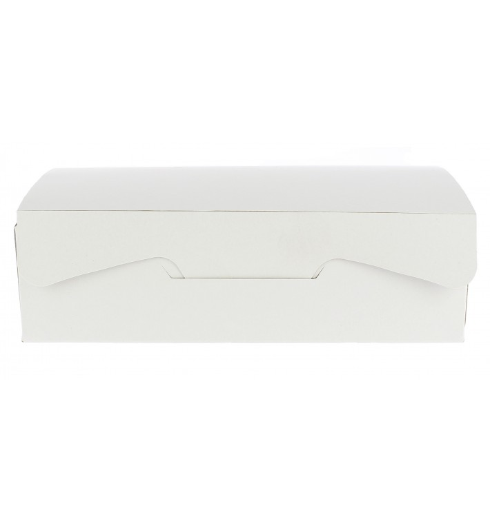 Gebakdoos karton Witte 250g wit 17,5x11,5x4,7cm (360 stuks)