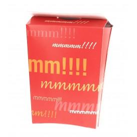 Papieren Container voor frietenGesloten (25 stuks)