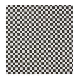 Graspapier inpakvellen zwart 31x38cm (4000 stuks)