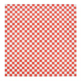 Graspapier inpakvellen rood 31x31cm (4000 stuks)