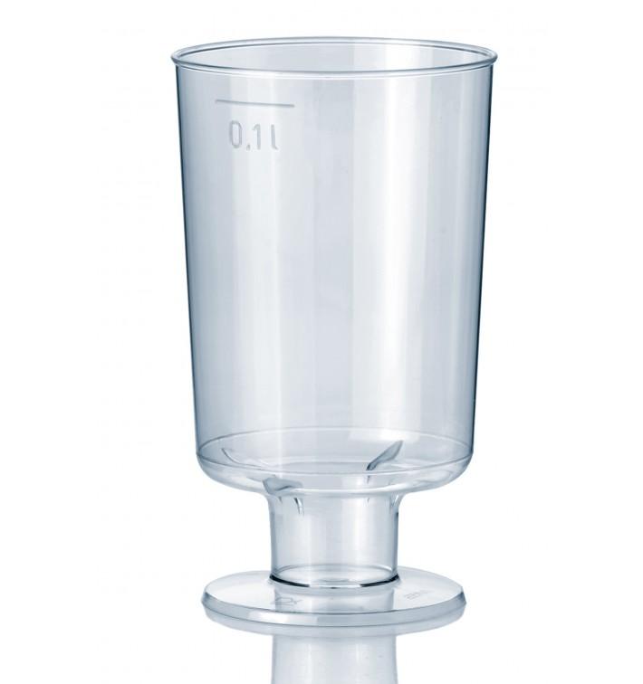 Plastic stamglas 100 ml (15 stuks)