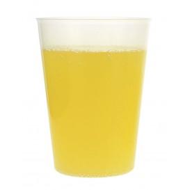 Plastic PP beker Hard transparant 480 ml (25 stuks)
