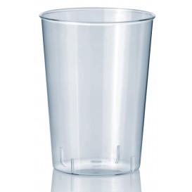 Plastic PS Shotje Geïnjecteerde glascider transparant 70ml (45 stuks)