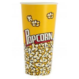 Papieren Popcorn doosje 720ml 9,6x6,5x17,7cm (1000 stuks)