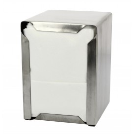 "Servet Roestvrij van staal Dispenser ""Miniservis"" 17x17 (1 stuk)"
