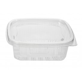 Plastic scharnierende Deli-Container PET 250ml (80 stuks)