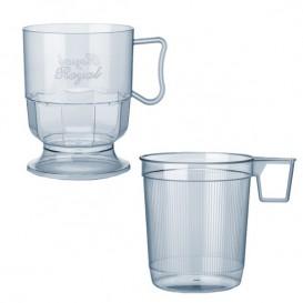Plastic beker stijf transparant 200 ml (300 stuks)