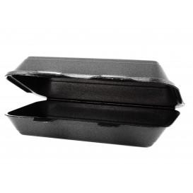 Schuim stokbrood Container zwart 2,40x1,55x0,70cm (125 stuks)