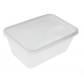 Plastic deli Container PP Rechthoekige vorm 1000ml (500 stuks)