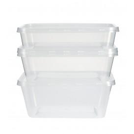 Plastic deli Container PP Rechthoekige vorm 500 ml (50 stuks)