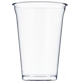 Plastic beker PET stijf 610ml Ø9,8cm (500 stuks)