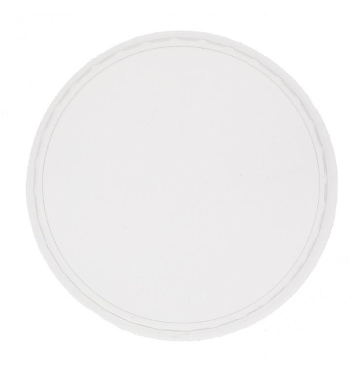 Plastic Deksel voor Deli Container PP Ø10,5 125,150,200,250,300,400,500ml (100 stuks)