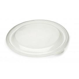 Plastic Deksel PP stijf transparant Ø19cm (50 stuks)