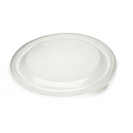 Plastic Deksel PP stijf transparant Ø23cm (25 stuks)