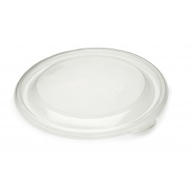 Plastic Deksel PP stijf transparant Ø13cm (50 stuks)