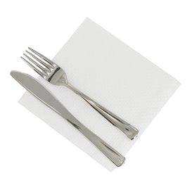 Papieren servet wit 1 laags 30x30cm (4.800 stuks)