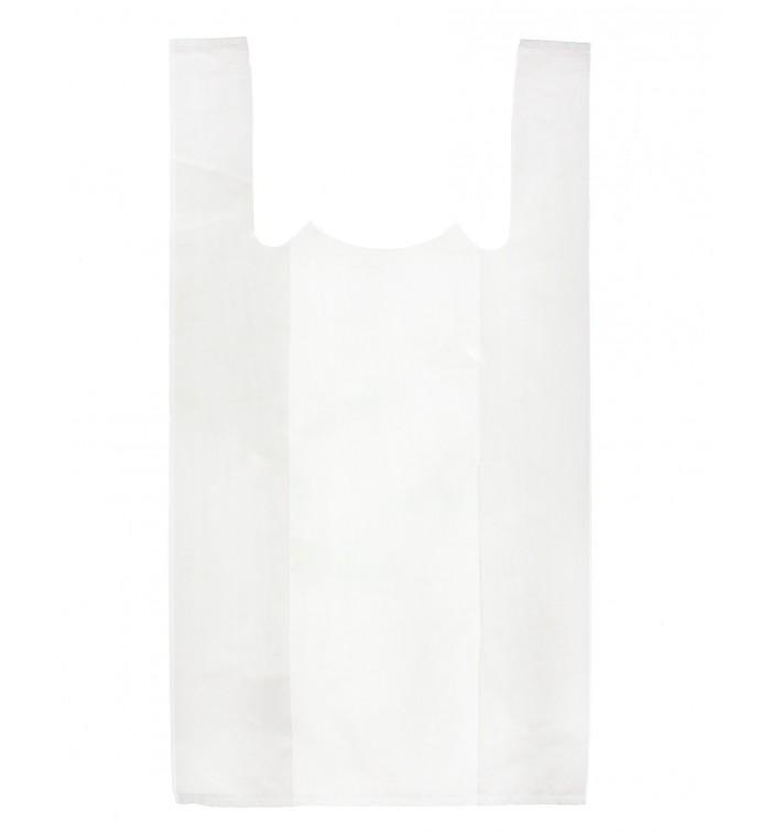 Plastic T-shirt tas wit 35x50cm (5000 stuks)
