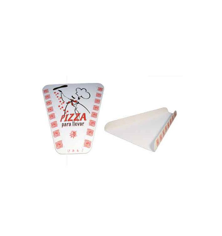 Gegolfde Pizza stuk doosje (100 stuks)