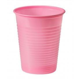 Vaso de Plastico Rosa PS 200ml (50 Uds)