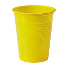 Vaso de Plastico Amarillo PS 200ml (50 Uds)