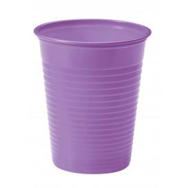 Plastic PS beker lila 200ml Ø7cm (50 stuks)