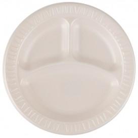 """Schuim bord Foam """"Quiet Classic"""" 3 C. gelamineerde Honeen Ø23 cm (500 stuks)"""