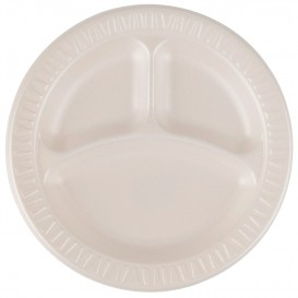 """Schuim bord Foam """"Quiet Classic"""" 3 C. gelamineerde Honeen Ø23 cm (125 stuks)"""