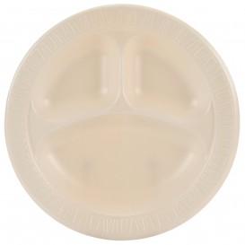 """Schuim bord Foam """"Quiet Classic"""" 3 C. gelamineerde Honeen Ø26 cm (125 stuks)"""