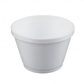 Schuim Container wit 6Oz/180ml Ø8,9cm (1000 stuks)