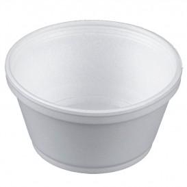 Schuim Container wit 8Oz/240ml Ø11cm (500 stuks)