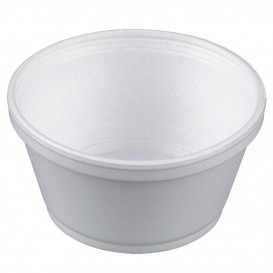 Schuim Container wit 8Oz/240ml Ø11cm (50 stuks)