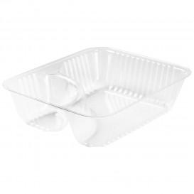 Envase de Plastico PS 2 C. Transp. 355ml (500 Uds)