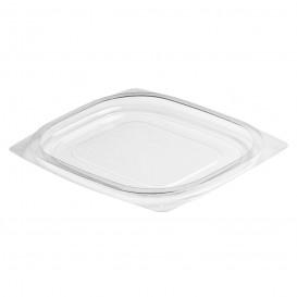 Plastic Deksel OPS voor Deli Container Plat transparant 118/177ml (63 stuks)