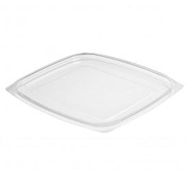 Plastic Deksel voor Deli Container OPS Plat transparant 710/946ml (63 stuks)