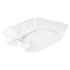 """Plastic deli Container transparant 2C 565ml """"Nachos"""" (500 stuks)"""