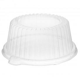 Plastic koepel Deksel PS Kristal Ø15x6,4cm (125 stuks)