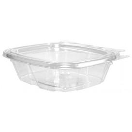 Plastic deli Container PET onverbrekelijk koepel Deksel Plat 240ml (200 stuks)