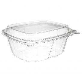 Plastic deli Container PET onverbrekelijk hoge koepel Deksel 355ml (100 stuks)