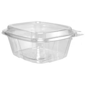 Plastic deli Container PET onverbrekelijk hoge koepel Deksel 475ml (100 stuks)