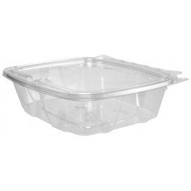 Plastic deli Container PET onverbrekelijk koepel Deksel Plat 710ml (100 stuks)
