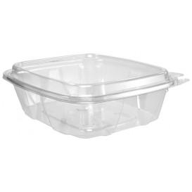 Plastic deli Container PET onverbrekelijk hoge koepel Deksel 710ml (100 stuks)
