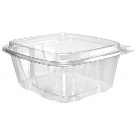 Plastic deli Container PET onverbrekelijk hoge koepel Deksel 950ml (100 stuks)